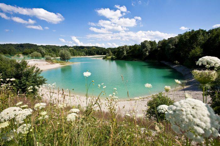 Erlebnisweiher Halfing Chiemgau